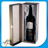 Boîte en bois à vin pour une bouteille