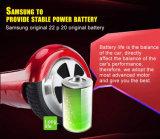 De verse de 6.5-duim van de Voorraad Slimme In evenwicht brengende Autoped van het Twee Wiel met Certificaat, de Batterij van Samsung