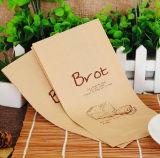 Bolso del embalaje del pan del papel de Kraft de la impresión de Hangzhou