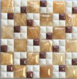 Плитка мозаики смешанного цвета естественная каменная для плакирования стены (FYSL372)