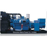 motore diesel di originale del generatore del MTU della Germania di potere di tasso di 1000kw 1250kVA