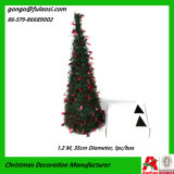 Natale Tree per Decoration con Tinsel Garland