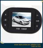 小型サイズ300megaピクセルおよびH. 264のビデオが付いている完全なHD 1080Pの手段カムDVRブラックボックスC600