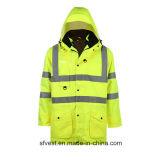3 в 1 куртке Eniso видимости безопасности зимы отражательной высокой