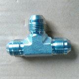 Hydraulische Montage van het T-stuk van Jic van het roestvrij staal de Mannelijke/Montage Adapter/Tube