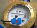 Materieller magnetisches Laufwerk-trockener Messingvorwahlknopf-kaltes/Heißwasser-Messinstrument mit Impuls-Ausgabe