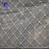 Aktive Steigung-Schutzsystem-Spinnen-Spirale-Seil-Ineinander greifen-Netz Rockfall Filetarbeit