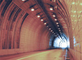 Membrane de imperméabilisation de HDPE utilisée dans le tunnel