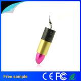 유행 3D 플라스틱 다채로운 숙녀 Lipstick USB 섬광 드라이브