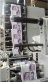 Machine d'impression avec 2 découpant et couvrant avec des matrices