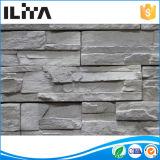 Piedra artificial superficial sólida de Ledgestone para el revestimiento de la pared (YLD-60025)