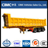 Cimc 3-Axle Tipping Tipper Dump Semi Trailer con Lowest Price