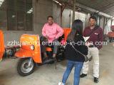 2016 scaricatore diesel mini di vendita caldo del triciclo/tre rotelle/piccolo autocarro con cassone ribaltabile per l'estrazione mineraria con il Elettrotipia-Triciclo di trasporto grande