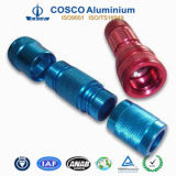 High Precision Machiningの多彩なAnodized Aluminum Flashlight