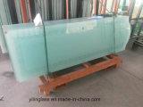 Ausgeglichenes bereiftes Tür-Glas mit Kerbe oder Schlitz
