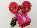 無線オートバイの警報システムエムピー・スリーの音声