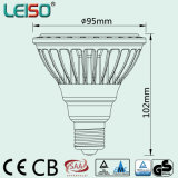 Dimmable E27/E26/B22 80ra/90ra CREE Chips Scob Patent Leiso LED PAR30
