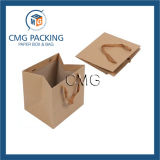Bolsa de papel grande de embalaje de Brown Kraft (DM-GPBB-117)