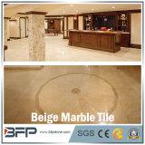 Mattonelle di pavimento di marmo beige incluse per la pavimentazione/ingresso/parete dell'hotel