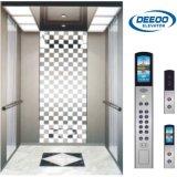 Elevación minimalista del elevador del pasajero de 10 personas