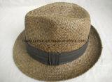 Sombreros pausados del sombrero de ala del estilo de la paja de papel del 100%