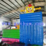 아이 만화 팽창식 뛰어오르는 Bed/0.55mm PVC 팽창식 도약자 성곽
