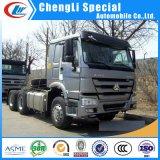 371HP 420HP 10 Wheel Sinotruk HOWO 주요하 발동기 Head Tractor Truck