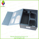 Schwarzes Wine Packaging Box mit Window