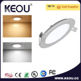 6W 9W 12W 15W 18W adelgazan LED Downlight