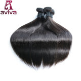 Seidige gerade peruanische natürliche Jungfrau-Haar-Extension