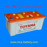 padrão cobrado seco da bateria de carro JIS da boa qualidade 12V120ah