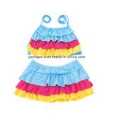 De Kleurrijke Slijtage van uitstekende kwaliteit van de Kinderen van het Zwempak van de Jonge geitjes van Swimwear van de Meisjes van de Druk