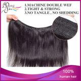 Prolonge non transformée droite en soie de cheveux humains