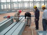 De Installatie van het Frame van de Bouw van het staal voor Bouwwerf