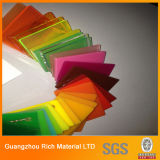 доска плексигласа перспекса акрилового листа цвета PMMA 3mm пластичная
