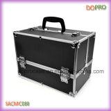 Belleza Clásico Maquillaje caso caja cosmética de aluminio (SACMC088)