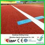 Iaaf aprobó la pista corriente de goma prefabricada resistencia a las inclemencias del tiempo