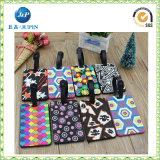 Etiquetas útiles de cuero imprimibles creativas del equipaje del item de Personalzed (JP-LT040)