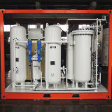Aufbereiten der Schutz Schiene-eingehangenen ISO-Stickstoff-Generator-Pflanze