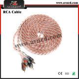 Комплекты кабеля наборов проводки тональнозвукового усилителя AMP высокого качества фабрики (AMP-017)
