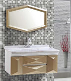 Mirror (NW 2027年)のType現代Wall Mounted PVC Bathroom Vanity