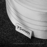 Curado tejido trato especial envolviendo la tela industrial de nylon de la cinta el 100% para el manguito de goma