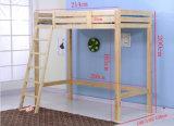 Das crianças de madeira das camas das camas dobro de únicas camas camas Elevated (M-X1080)