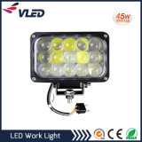 45W Hi/Lo Marine LED Work Light Work LED Spot Truck Light 4D Lens