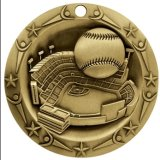 Custom Design Alloy Antique Gold 3D Medal