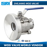 Roestvrij staal Clamp Ball Valve met ISO5211