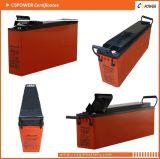 Bateria dianteira do AGM do terminal de Cspower 12V55ah para UPS das telecomunicações, fabricante de China