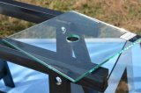선반과 가는 배기판 노치 슬롯을%s 가진 6mm/8mm/10mm/12mm 부드럽게 했거나 단단하게 한 샤워 문 유리