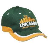 男女兼用のためのカスタム綿の野球帽/ゴルフ帽