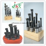 3/8 de Houten Getipte Boorstaven van de Tribune 9PCS/Set Carbide